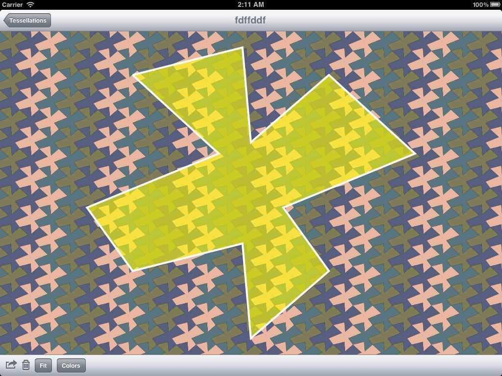 Tessellation for the iPad